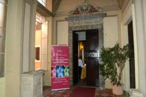 Ingresso del Palazzo Ferrajoli il giorno dell'Evento